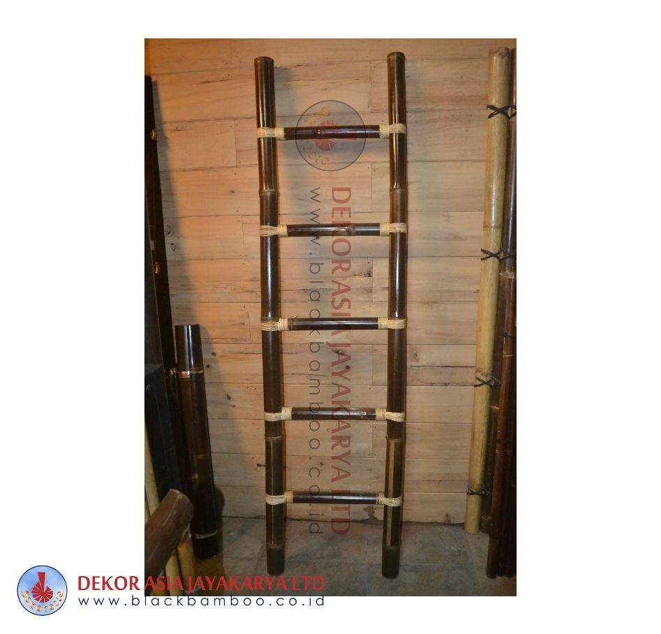 Bamboo Ladder 5 Rungs