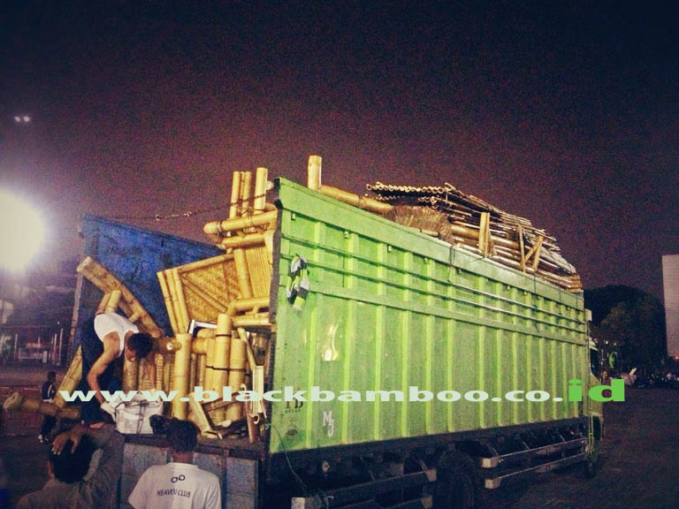 Delivering Bamboo House