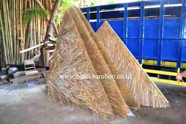 BAMBOO GAZEBO ROOF KNOCK DOWN SYSTEM